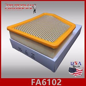 Fa6102 Engine Air Filter For Chevrolet Camaro 2010 2015 Fast Shipping