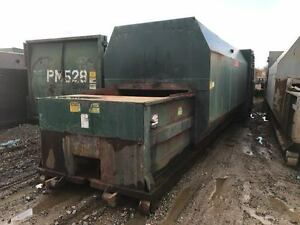Ptr Trash Recycling Self Contained Compactor 35 Yd