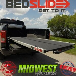 Bedslide S Split Deck Sliding Bed Drawer For Ford Super Duty 6 9 Shortbed