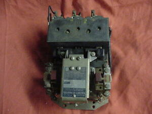 Square d Limited D0 1 E4313 S2 15hp 3 phase Contactor Clausing Colchester Lathe