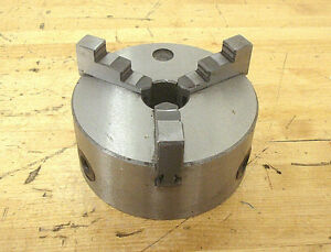 5 3 jaw Self centering Plain Back Lathe Chuck