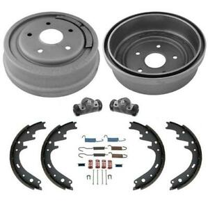Larger 11 Rear Drums Shoes Wheel Cylinders Springs Rear 6pc For Ford F150 77 86