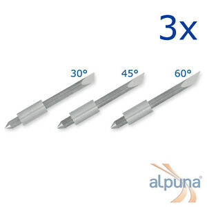3 Plotters For Graphtec 0 1 16in 45 Alpuna Quality Blades
