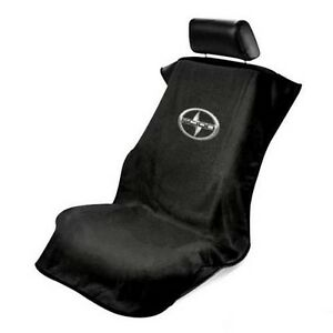 One Brand New Universal Black Scion Seat Towel Seat Armour Cover Tc Fr S Im Iq