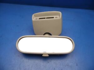 98 05 Vw Volkswagen Beetle Oem Rear View Mirror W Clock Assembly Factory wear