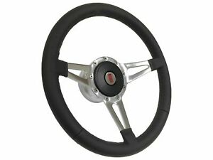 1969 1994 Oldsmobile S9 Sport Leather Steering Wheel Kit Slotted 3 Spoke