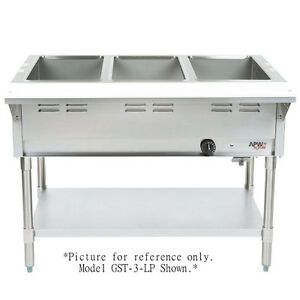 Steam Table Information On Purchasing New And Used