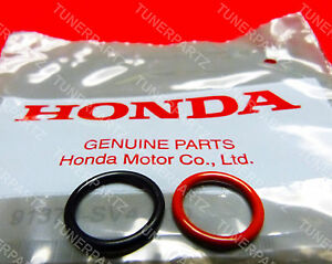 Oem Acura Honda Power Steering Pump Rubber Inlet Outlet O Ring Seals 2 Pcs Kit