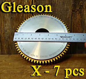 7 Brand New Gleason Cutting Tool 30535 000 2 Gear Hob