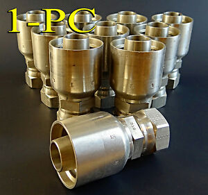 Parker Stainless Steel Hydraulic Fitting 10671 12 12c 37 316 Ss Parkrimp Swivel