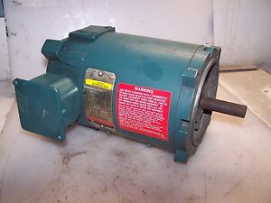 New Reliance 1 3 Hp Dc Electric Motor Ea 56c Frame 1725 Rpm 90 Vdc T56h1020n tk