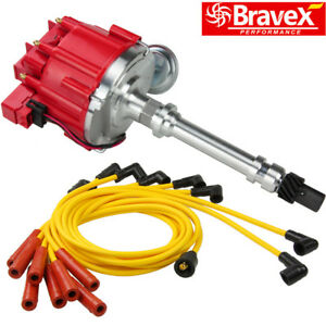 Hei Distributor For Chevy gm Small Big Block Spark Plug Wires Ignition Combo Kit