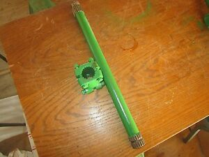 Oliver Tractor White 2 70 1600 1650 1655 Input Shaft And Coupler Very Very Nice