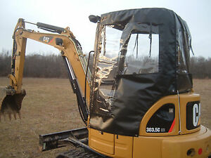Usa 4 Sided Cat 302 5 303 5 303 5c Mini Excavator Soft Tractor Cabs