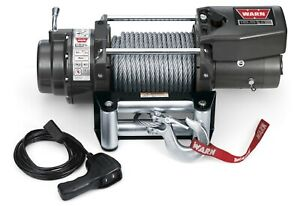 68801 Warn 16 500 Lb Thermometric Self Recovery Winch W Wire Rope