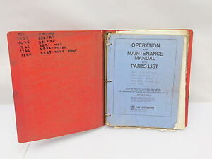 Taylor Dunn Electric Cart Service Parts Manual Repair Book e12 2049