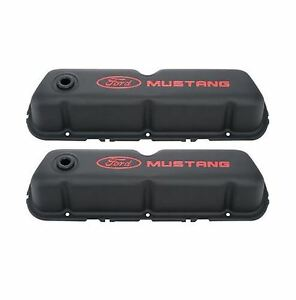 Proform 302 101 Mustang Sb Ford Black With Red Valve Covers