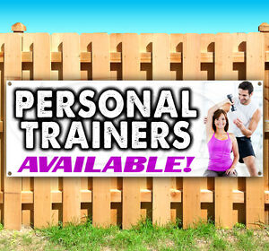 Personal Trainers Advertising Vinyl Banner Flag Sign Many Sizes Available Usa