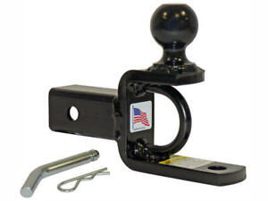 Rigid Hitch Inc Atv Utv Ball Mount W 2 Inch Hitch Ball For 2 Inch Receivers