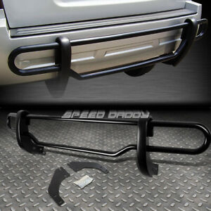 For 08 12 Ford Escape tribute Black Coated Dual bar Rear Bumper Protector Guard