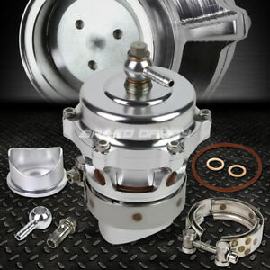 50mm Aluminum Silver Turbocharger 360 Vent Blow Off Valve Bov 35psi Boost Flange