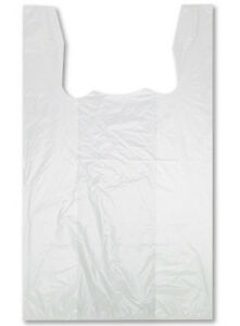 Plastic T shirt Garment Bags Retail Display Store Fixture White Lot Of 2000 New