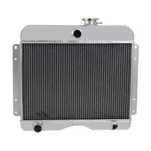 3 Row Aluminum Engine Radiator For Jeep Willys 1946 1964 willys Station Wagon