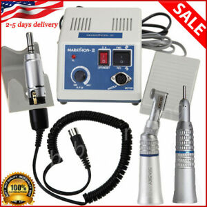 Dental Lab Marathon Micromotor 35k Rpm N3 Straight Handpiece Contra Angle Nb