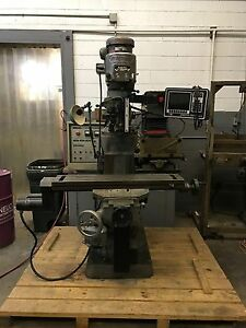 Bridgeport Series 1 Cnc Vertical Milling Machine W Prototrak M2
