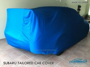 Coverking Satin Stretch Custom Indoor Tailored Car Cover For Subaru Wrx Sti