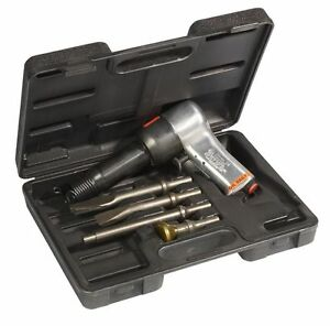 Chicago Pneumatic Cp717k Super Duty Air Hammer Kit With Set Of 4 Chisels