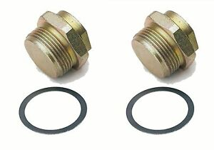 Holley Fuel Bowl Plug Inlet Fitting 7 8 20 Gasket Hly 26 18 2 2pack A144x2
