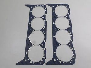Pair Victor 1178vc Head Gaskets For Sbc Chevy 265 283 302 307 327 350