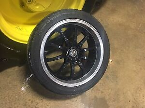 Four 18 Msr Rims And Tires