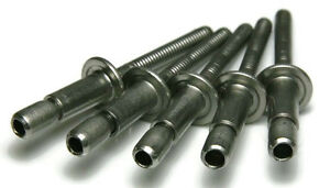 Structural Pop Rivets Stainless Steel 8 6 1 4 0 080 0 375 Grip Qty 100