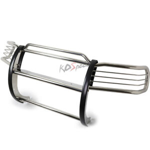 Chrome Stainless Steel Brush Grille Guard Frame For 03 11 Honda Element Y1 H1