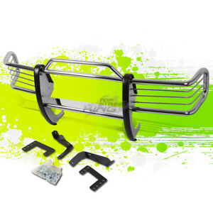 1 5 Od Polish Front Bumper Brush Grille Guard Frame For Grand Cherokee Zj 93 98