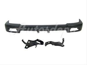 For Toyota 1992 95 Pickup 4wd Front Bumper Primed Face Bar Arm Bracket 3pcs