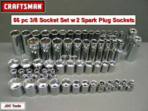 Craftsman 61 Pc 3 8 Drive Socket Torx Hex Ratchet Wrench Set 42 22 17 10