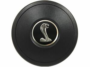 Volante S9 Black Horn Button Ford Mustang Tiffany Snake Emblem