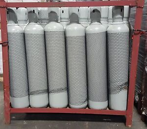 80cuft Cylinder Tank Bottle Can Be Filled W Argon Nitrogen Helium Argon mix