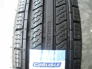 2 New St 205 75r15 Carlisle Radial Hd Trailer Tires 6 Ply 2057515 75 15 R15 C