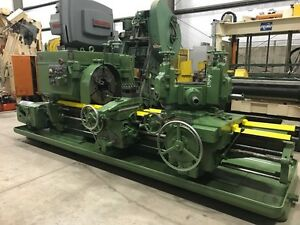 Warner Swasey No 4a M3550 Saddle Type Turret Lathe 2007