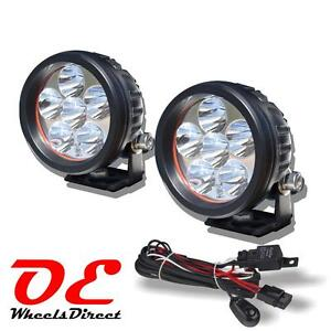 2 Pcs Ko Offroad 3 5 18w Led Driving Light Cree Beam Spot Round Work Suv