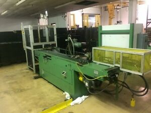 Pines 1 Horizontal Mandrel Tube Bender 2012