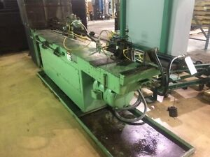 Pines 1 Horizontal Mandrel Tube Bender 2013