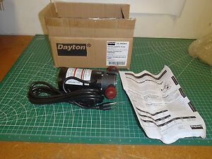 2a 115v 1 12 Hp Flexible Impeller Pump 17 3 Psi 27a