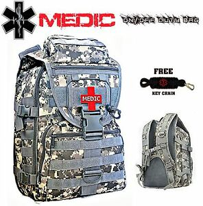 Medic First Responder Backpack On off Duty Bag First Aid Emergency Jump Kit