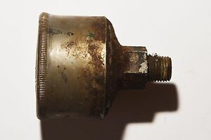 Vintage Hit Miss Steam Engine Nathan Mfg Grease Cup