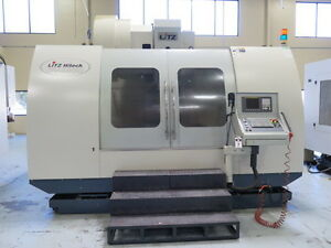 2007 Litz Cv 1400 Cnc Vertical Machining Center vmc cnc Mill 7787636